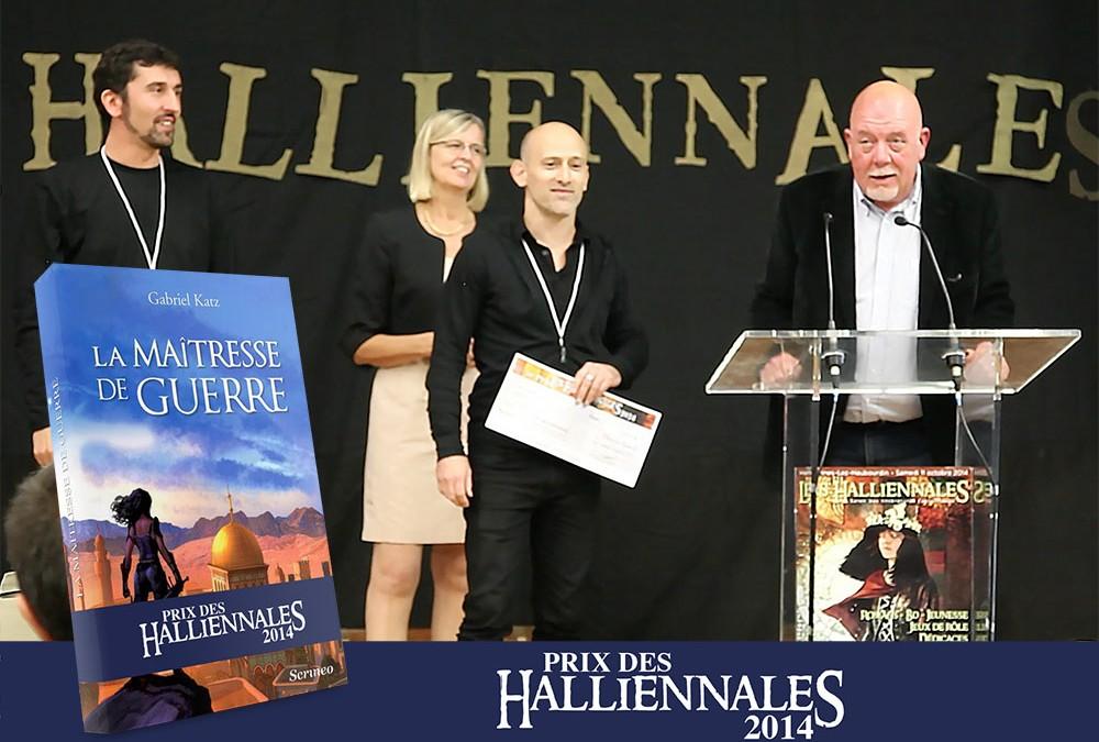 Le premier Prix des Halliennales attribué à Gabriel Katz