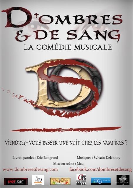 D'Ombres et de Sang, la comédie musicale